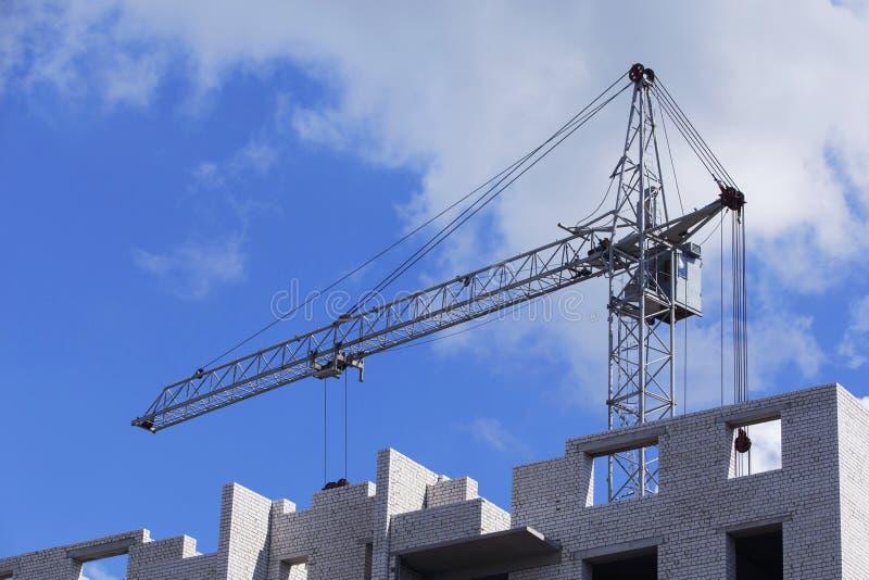 De bouwkraan stock afbeelding