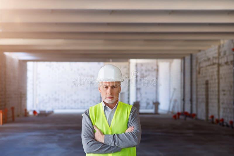 De bouwprocessen Leidersdeel stock afbeeldingen