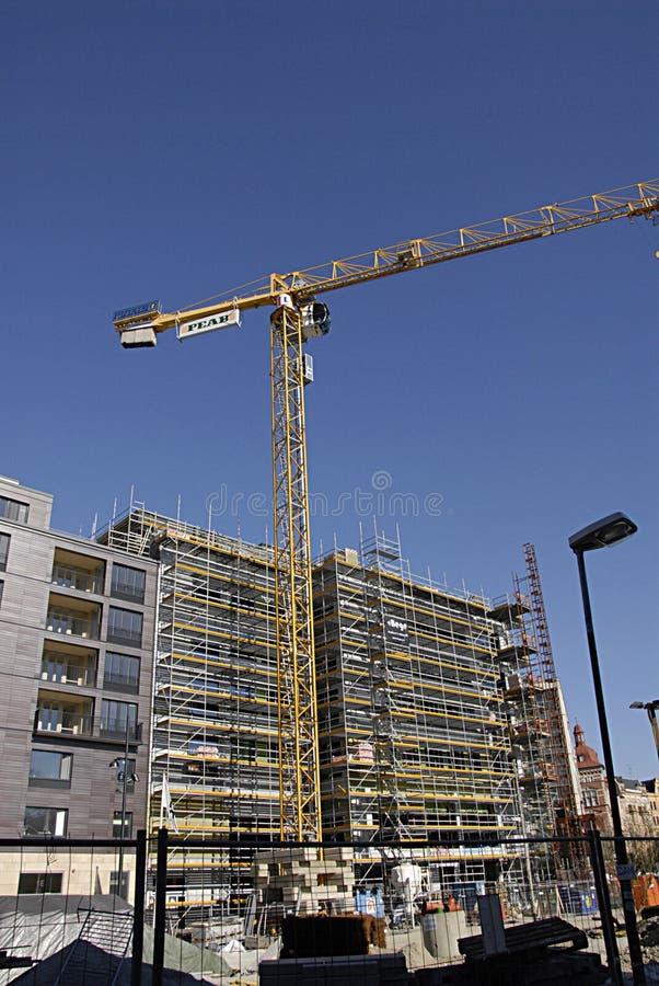De bouwwerf van ZWEDEN SVERIGE stock afbeelding