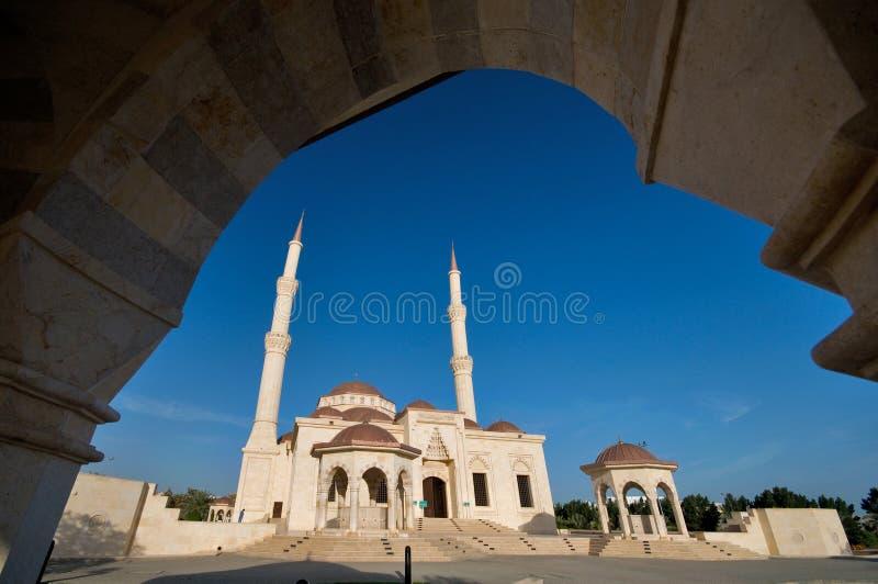 De bovengenoemde Moskee van Taimur van de bak royalty-vrije stock afbeeldingen