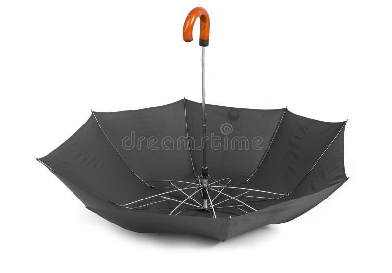 De bovenkant van de paraplu - neer stock foto