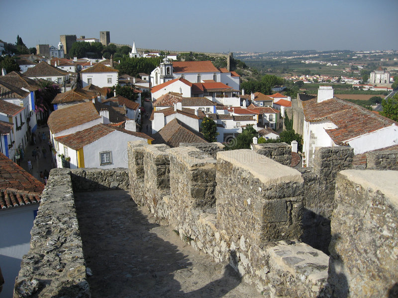 De bovenkant van de stad royalty-vrije stock fotografie