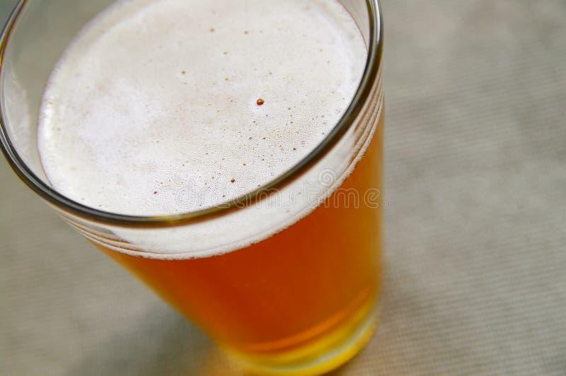 De bovenkant van het bier royalty-vrije stock foto
