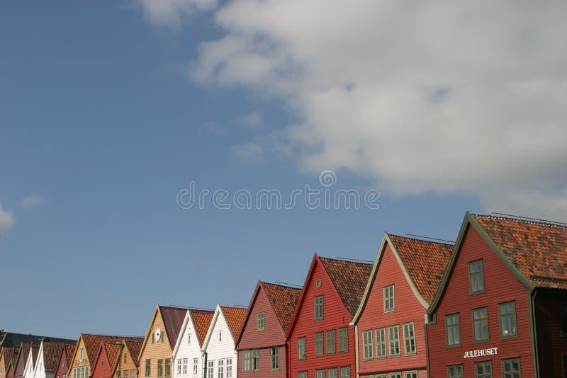 De bovenkanten van gebouwen royalty-vrije stock foto