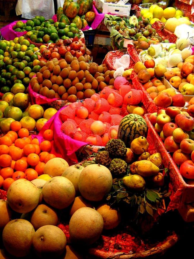 De Box van het fruit stock afbeelding