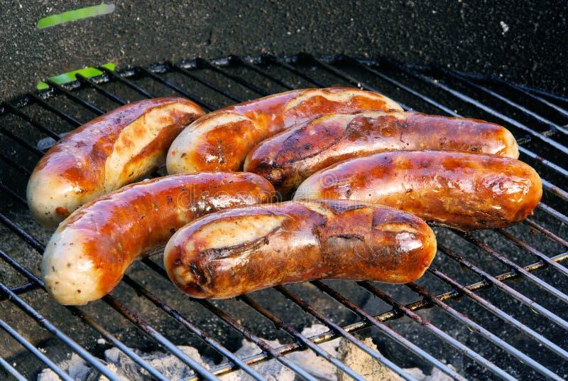 De braadworst van de barbecue royalty-vrije stock foto's