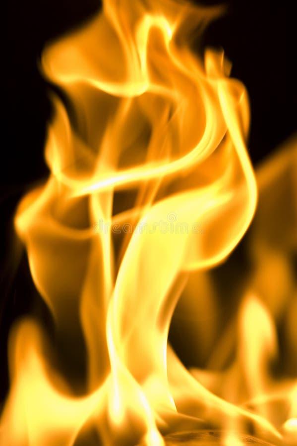 De brand van de hel royalty-vrije stock afbeelding