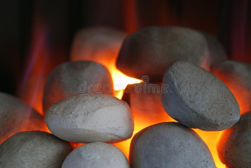 De brand van het gas royalty-vrije stock afbeeldingen