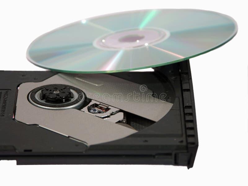 De brander van Dvd stock foto's