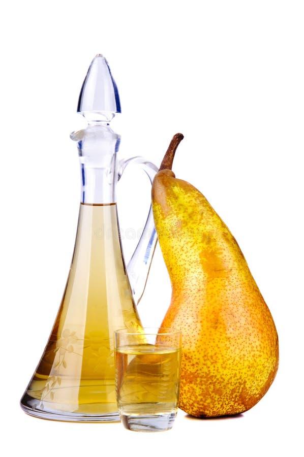 De brandewijn van het fruit stock afbeelding