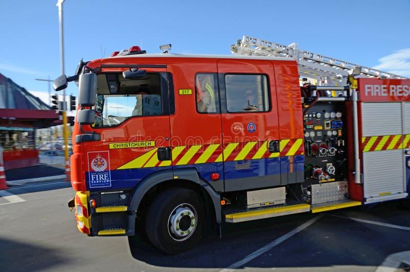 de brandofferte haast zich in Christchurch royalty-vrije stock afbeelding