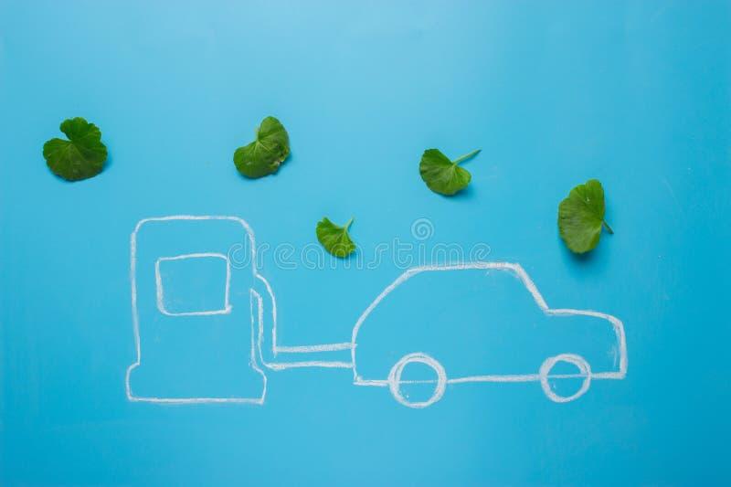 De brandstofconcept van Eco royalty-vrije stock fotografie