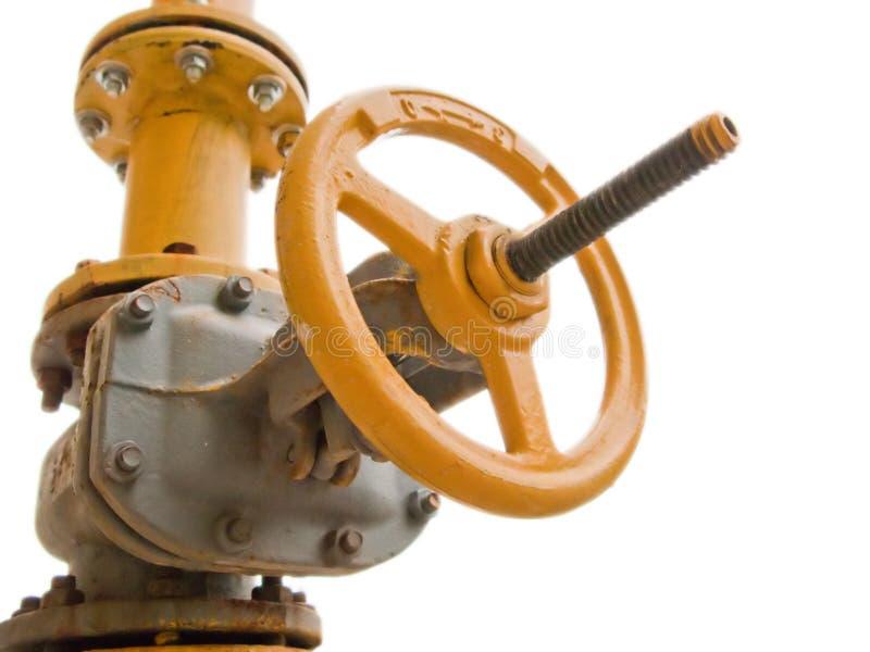 De brandstofklep van het gas stock afbeelding