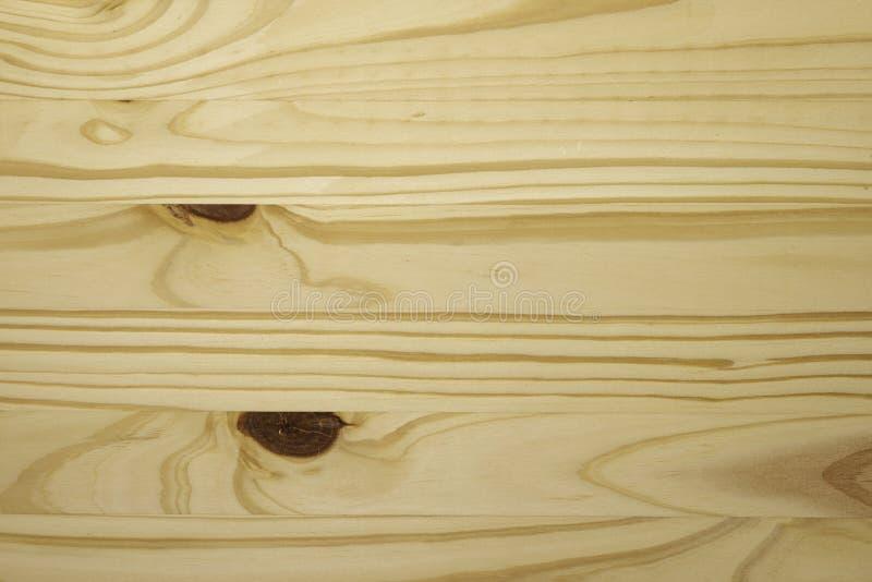 De Braziliaanse Pijnboom of Pinus onbehandelde achtergrond van Radiata, naakte houten, stock fotografie