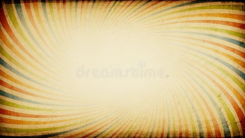 De brede achtergrond van de zonnestraal met aspectverhouding 16:9 vector illustratie