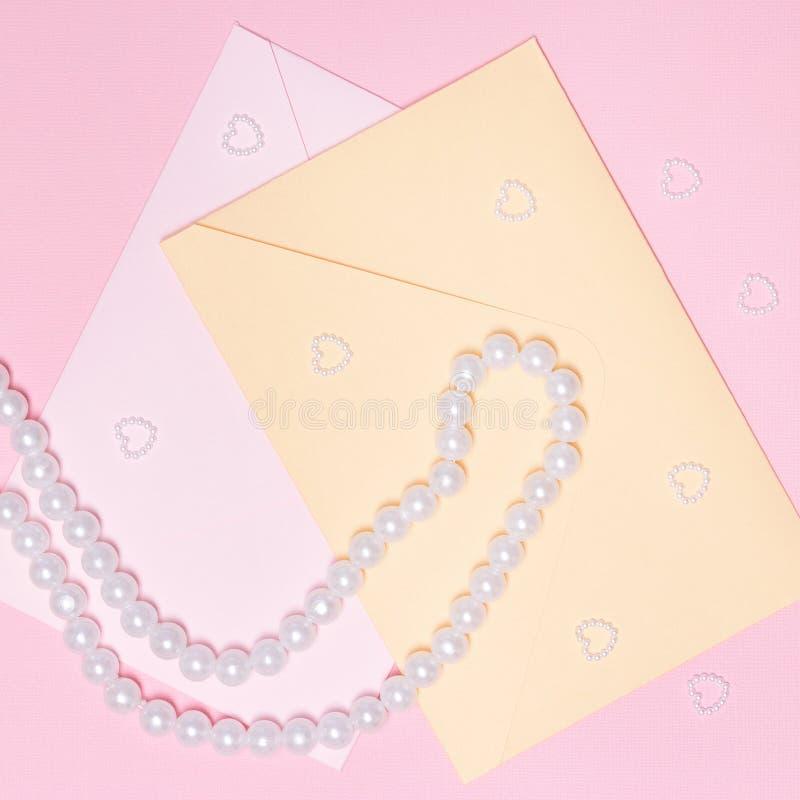 De brief van de liefde royalty-vrije stock foto