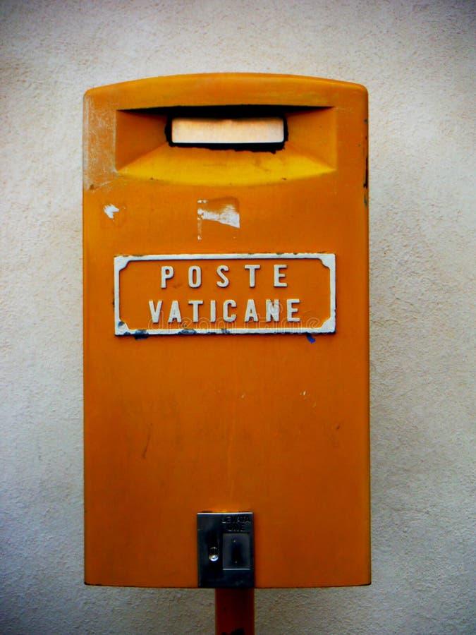 De Brievenbus van Vatikaan stock fotografie