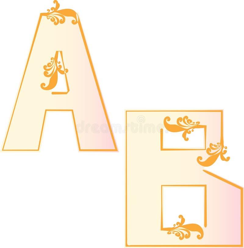De brievenschoolbord van het alfabet royalty-vrije stock foto's