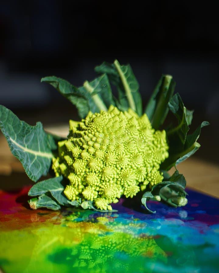 De broccoli van Romanesco stock foto