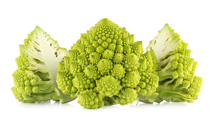 De broccoli van Romanesco stock foto's