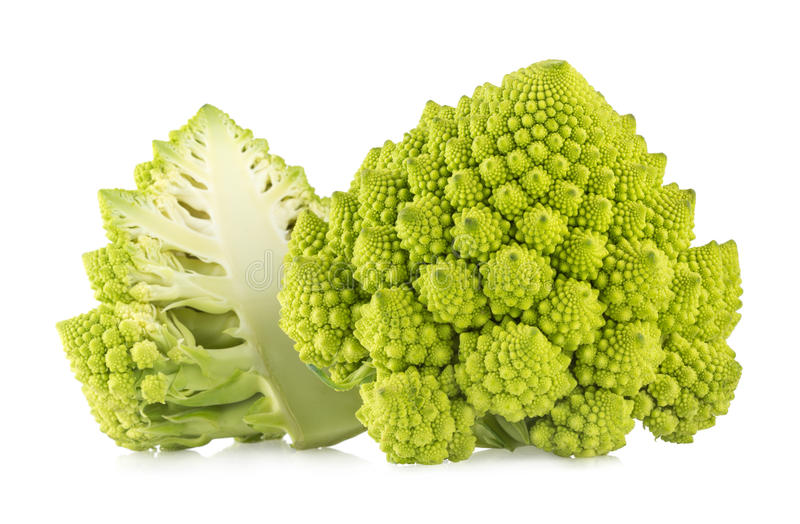 De broccoli van Romanesco stock foto
