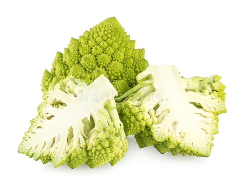De broccoli van Romanesco stock afbeeldingen