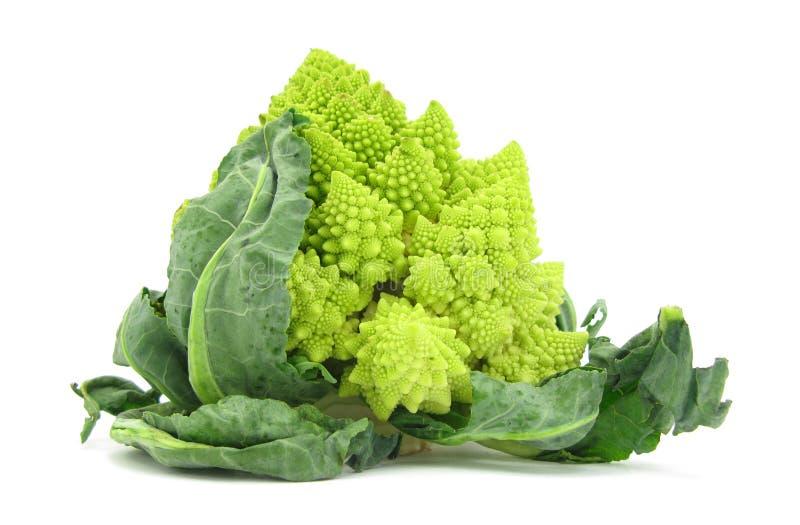 De broccoli van Romanesco van de bloemkool royalty-vrije stock foto's