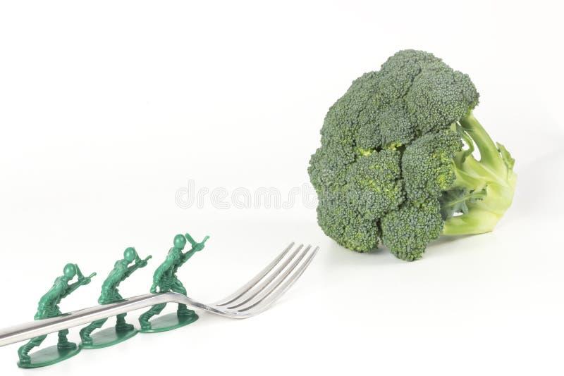 Download De Broccolivork Van Legermensen Stock Afbeelding - Afbeelding bestaande uit dieting, voeding: 54091235