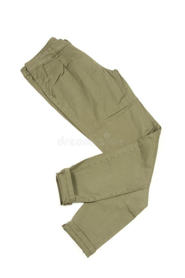 De broek van de camouflage stock afbeelding