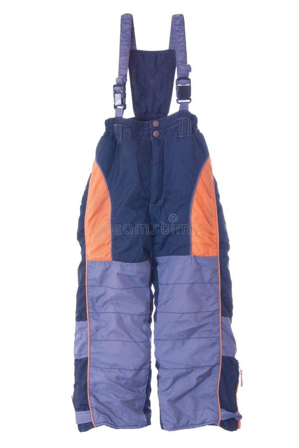 De broek van de winter | Geïsoleerdk stock foto's