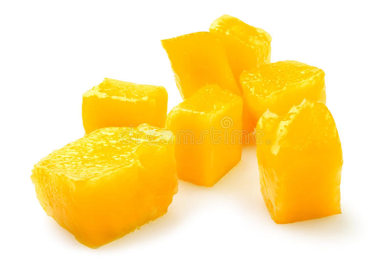 De brokken van de mango stock foto