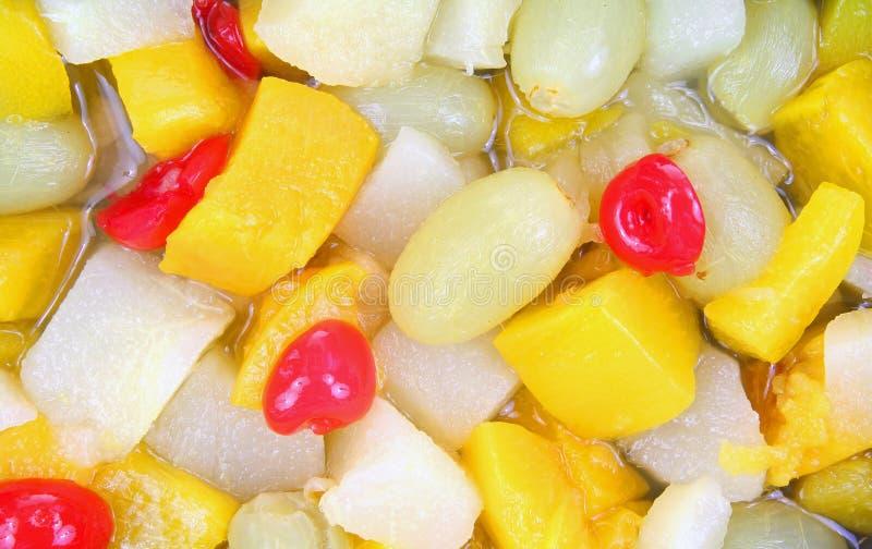 De Brokken van het fruit sluiten omhoog stock foto