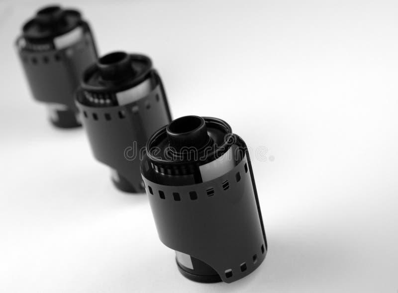Filmbroodjes stock foto's