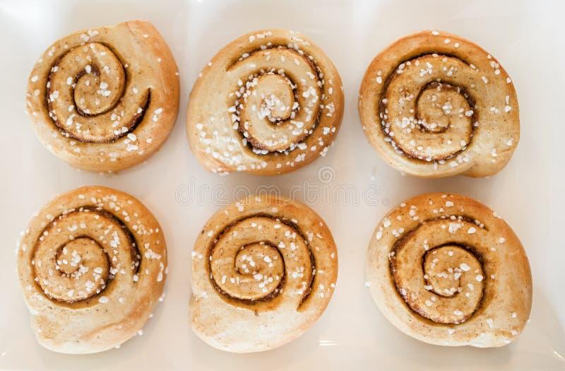 De Broodjes van de kaneel royalty-vrije stock afbeelding
