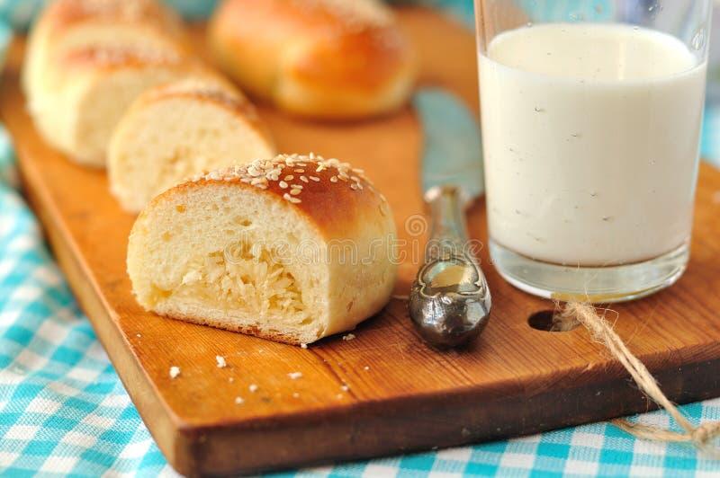 De Broodjes van de kokosnoot stock afbeelding