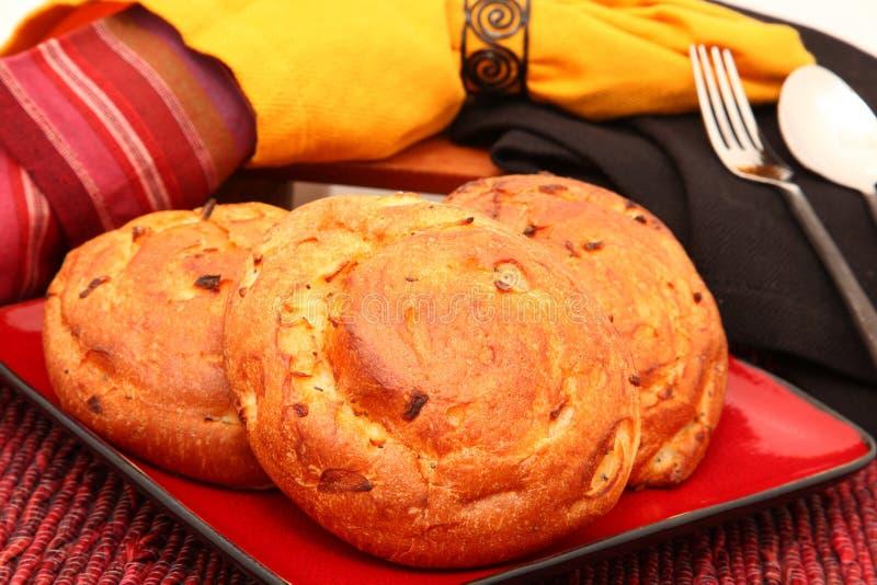 De Broodjes van de ui royalty-vrije stock afbeeldingen