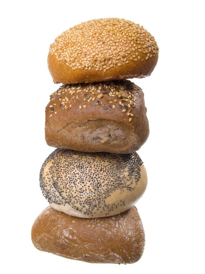 De broodjes van het brood royalty-vrije stock foto
