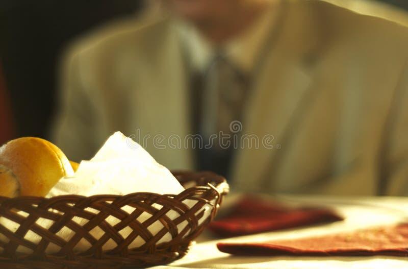 De Broodjes van het diner stock foto