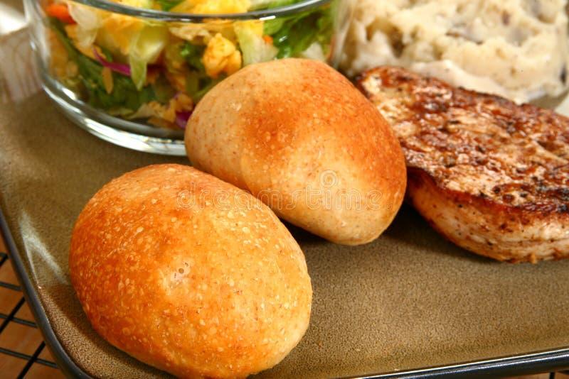De Broodjes van het diner royalty-vrije stock afbeelding