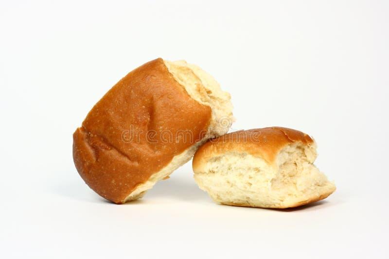 De Broodjes van het diner stock afbeeldingen