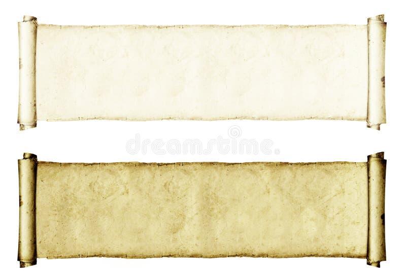 De Broodjes van het Document van Grunge stock illustratie