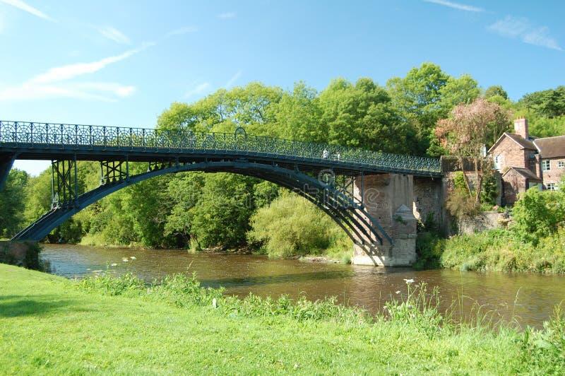 De brug Coalport stock afbeelding