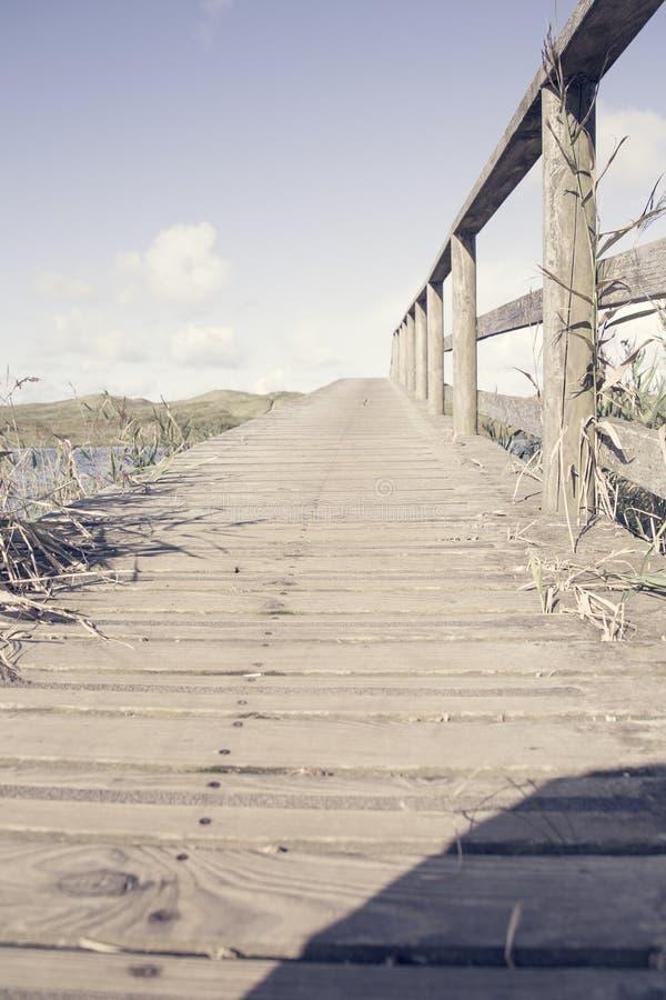 De brug in het Paradijs stock afbeeldingen