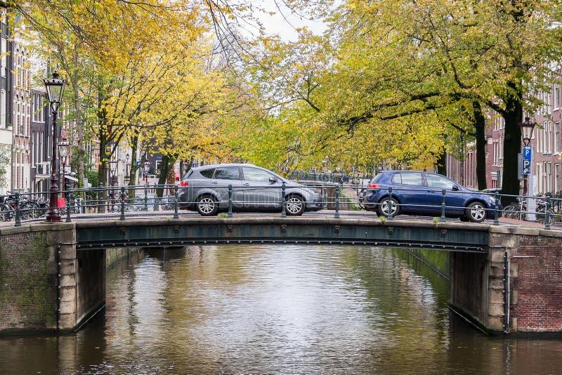 De Brug van Amsterdam royalty-vrije stock foto