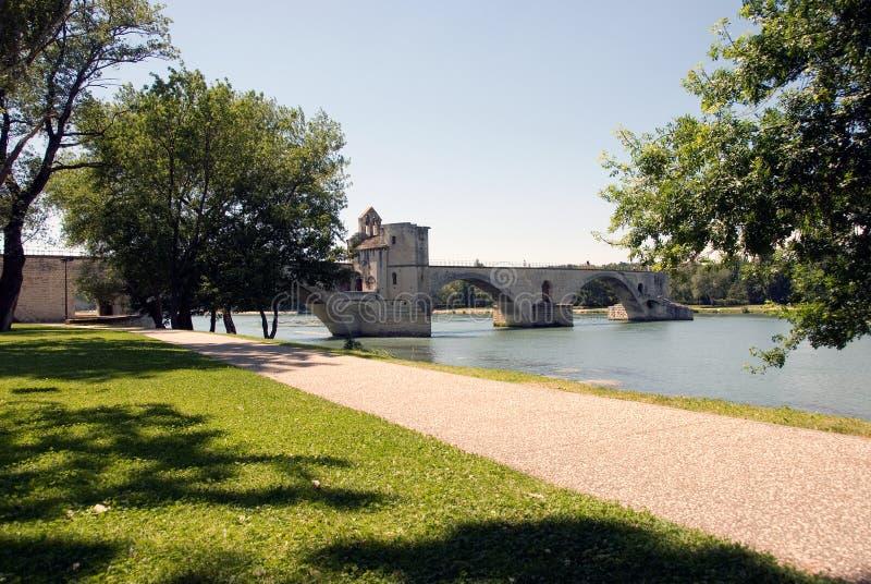 De brug van Avignon stock fotografie