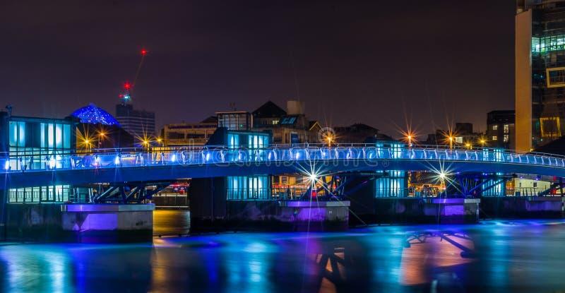 De brug van Belfast stock afbeelding