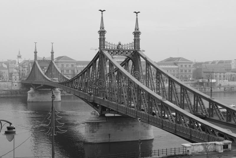 De Brug van Boedapest stock foto's