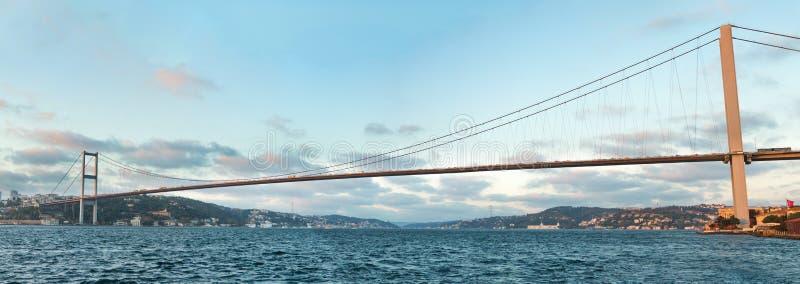De Brug van Bosphorus royalty-vrije stock afbeelding
