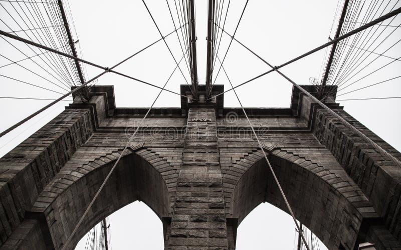 De Brug van Brooklyn in de Stad van New York royalty-vrije stock fotografie
