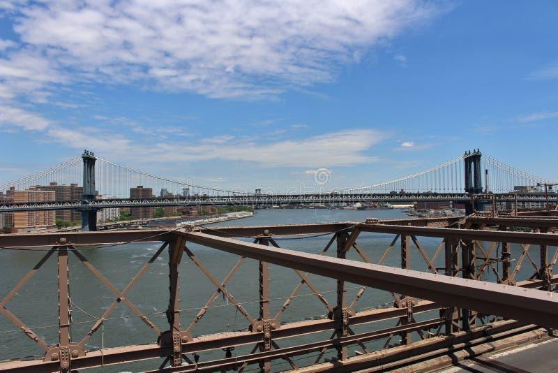 Download De Brug Van Brooklyn, New York Stock Foto - Afbeelding bestaande uit fiets, fietsers: 54089618